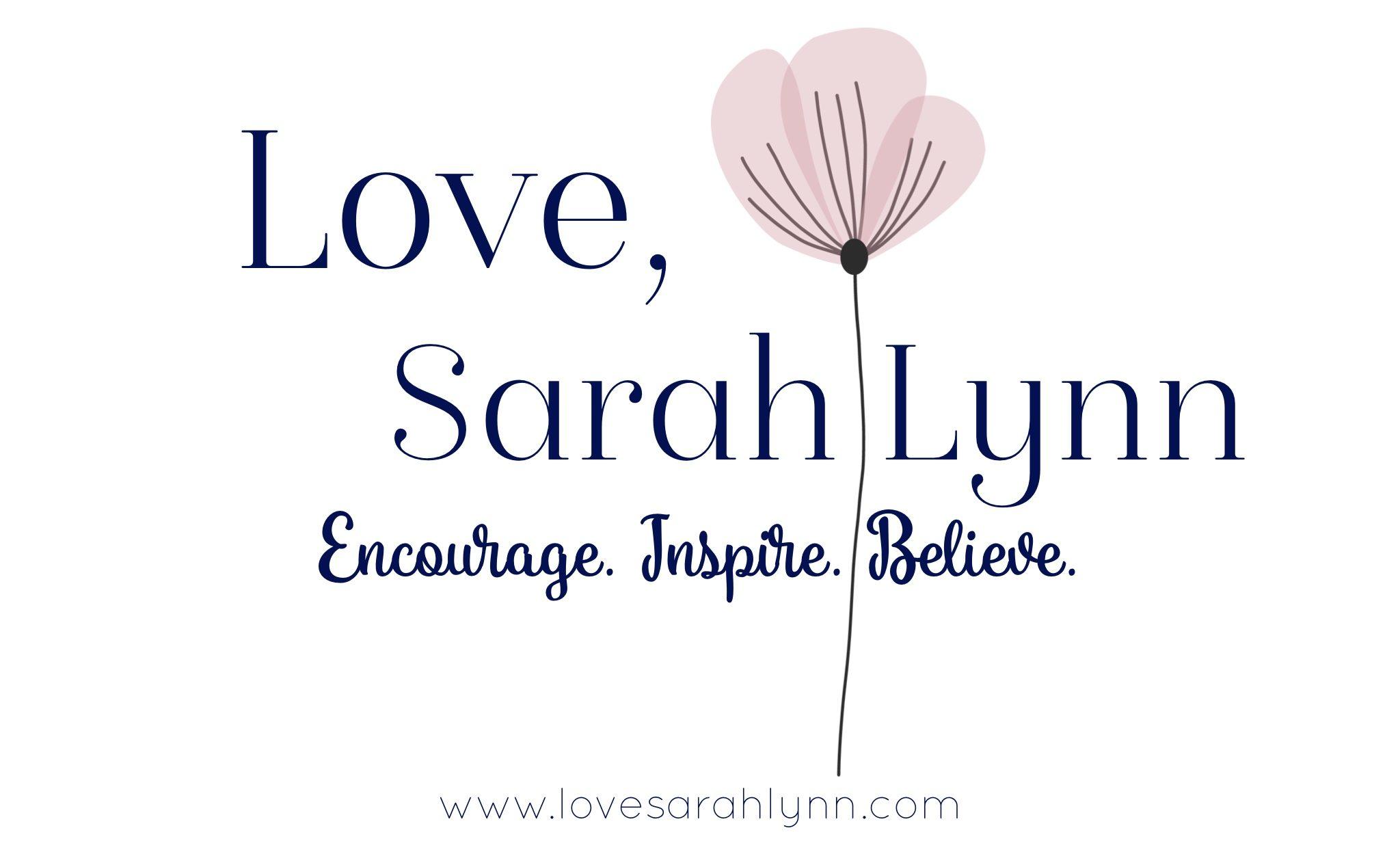 Love, Sarah Lynn